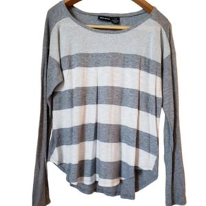 DKNY Jeans striped long sleeves t-shirt size M